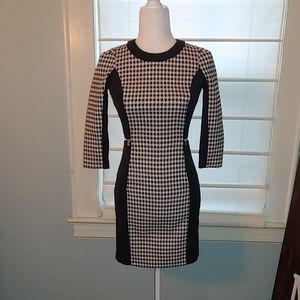 H&M Houndstooth Dress Size 4